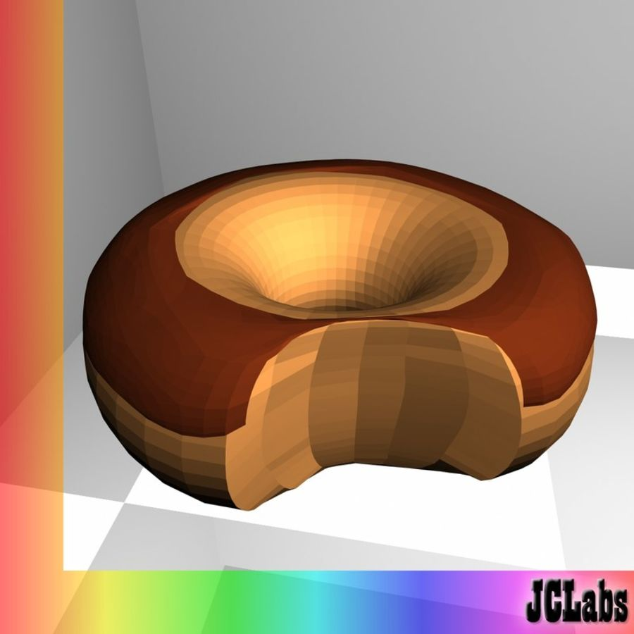 Donut royalty-free 3d model - Preview no. 1