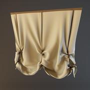 窗帘(04) 3d model
