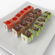 Sushi Dragons 3d model