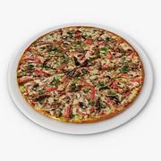 Пицца 3d model