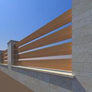 Fence Modern 3d model