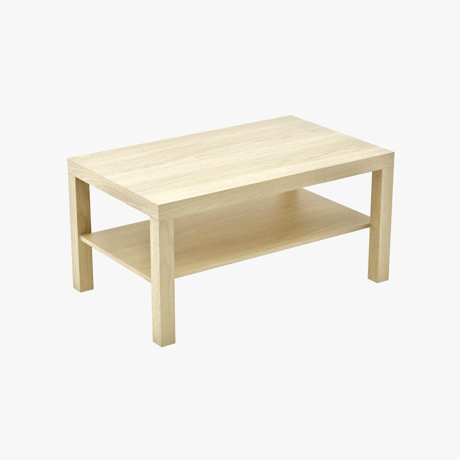 IKEA Lack Side Table Large Royalty Free 3d Model   Preview No. 1
