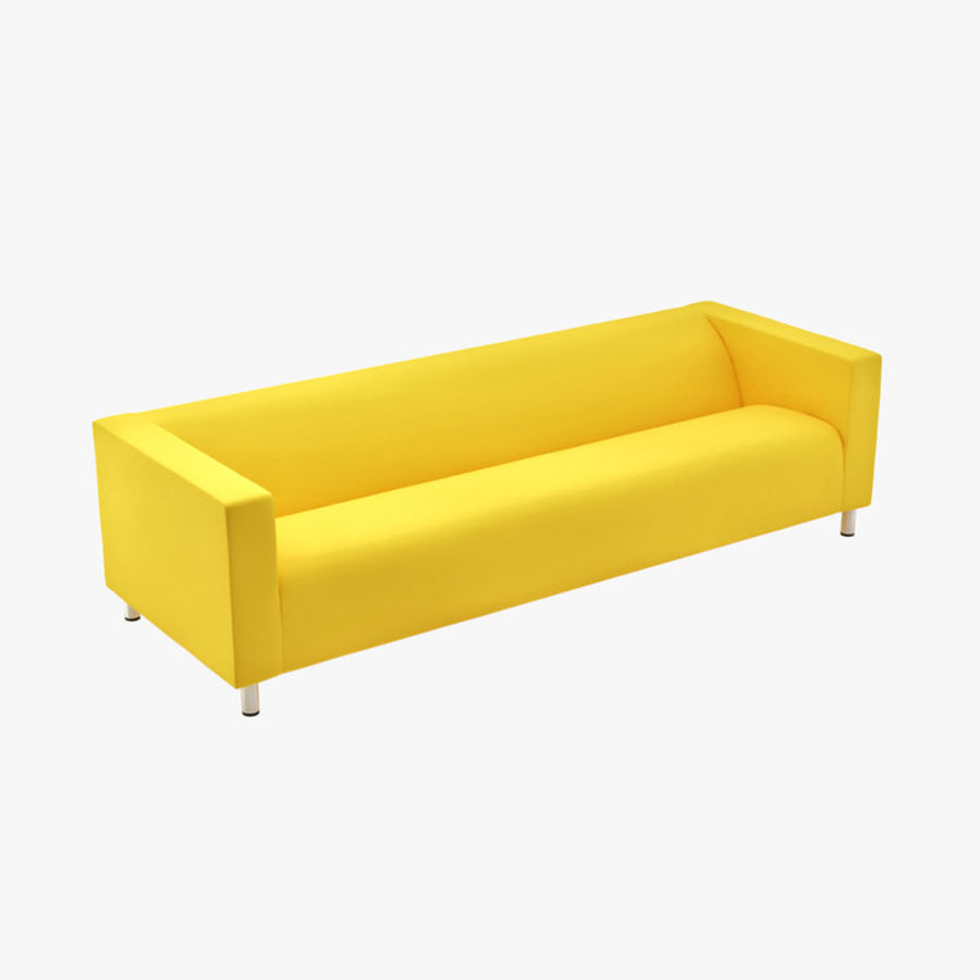 Ikea Klippan Four Seat Sofa 3d Model 19 Max Free3d