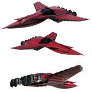 简化喷射 3d model