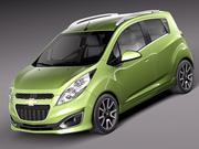 Chevrolet Spark 2013 3d model