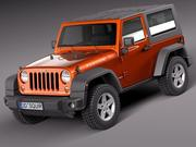 Jeep Wrangler Rubicon 2012 3d model