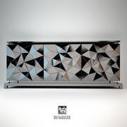 Fendi Madia Cabinet 3d model