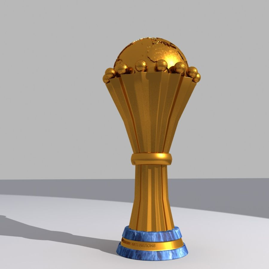 African Cup of Nations royalty-free 3d model - Preview no. 3