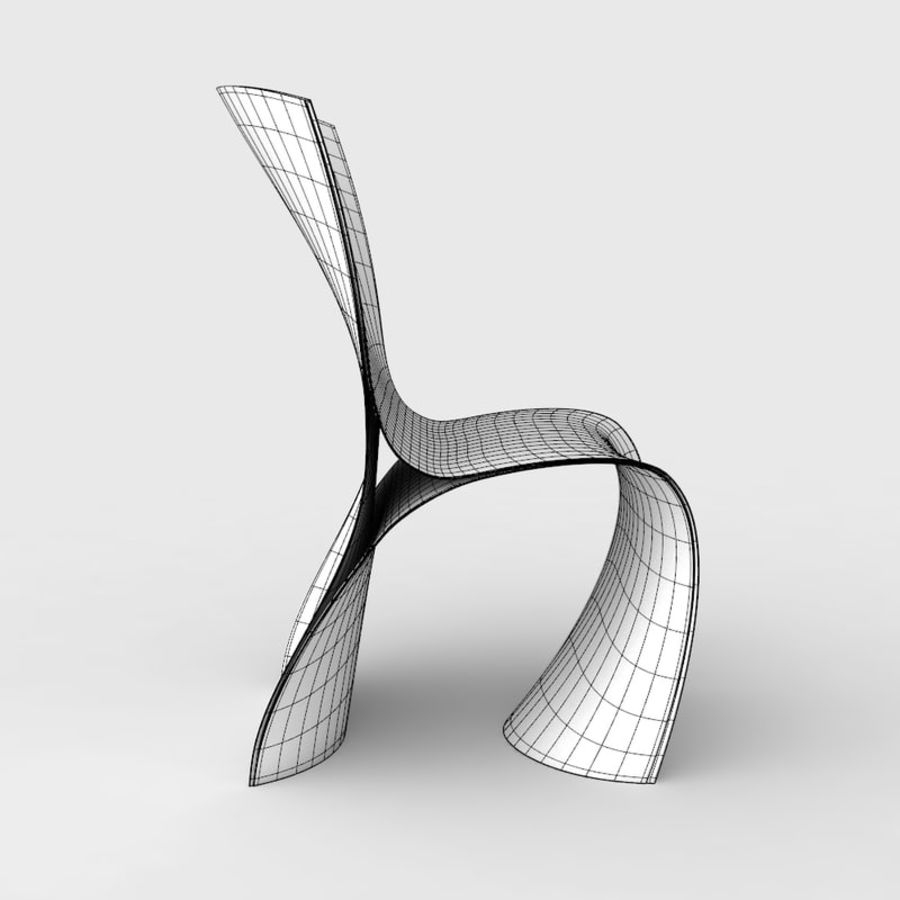 Awesome Ron Arad Three Skin Chair 3D Model 9 Max Obj 3Ds Free3D Bralicious Painted Fabric Chair Ideas Braliciousco
