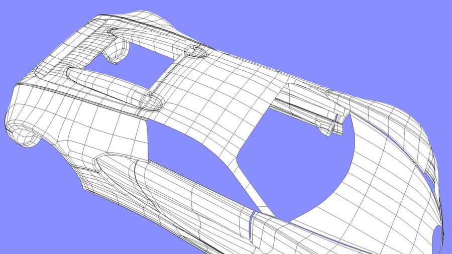 Bugatti veyron(1) royalty-free 3d model - Preview no. 10