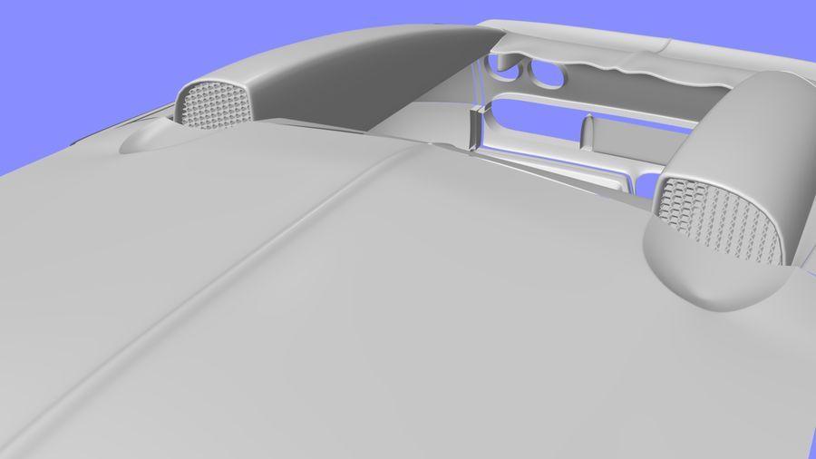 Bugatti veyron(1) royalty-free 3d model - Preview no. 5