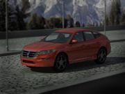 Honda Crousstour 3d model