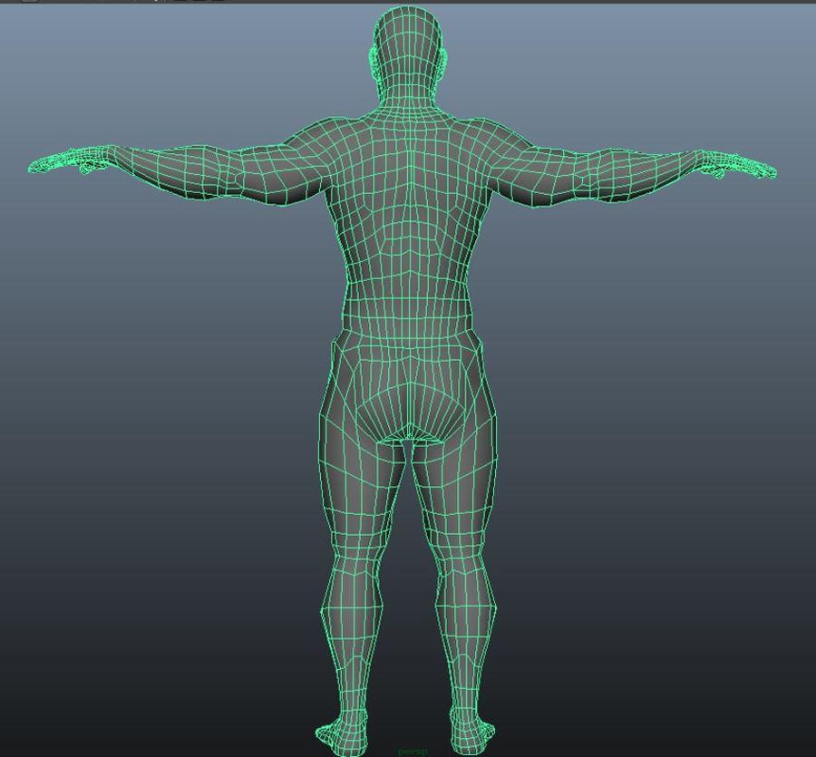 3D naken modeller