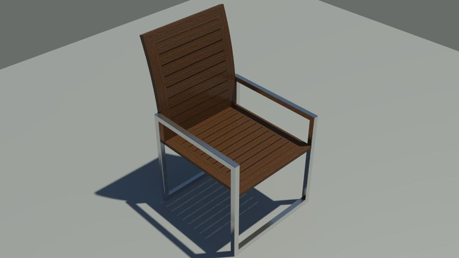Garden furniture royalty-free 3d model - Preview no. 5