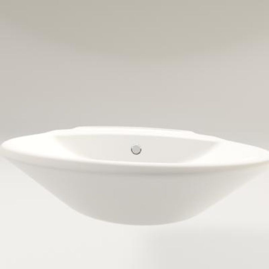 bathroom sink royalty-free 3d model - Preview no. 4