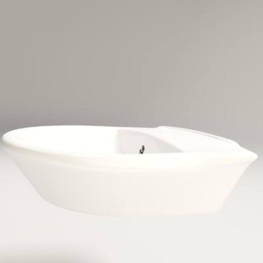bathroom sink royalty-free 3d model - Preview no. 3