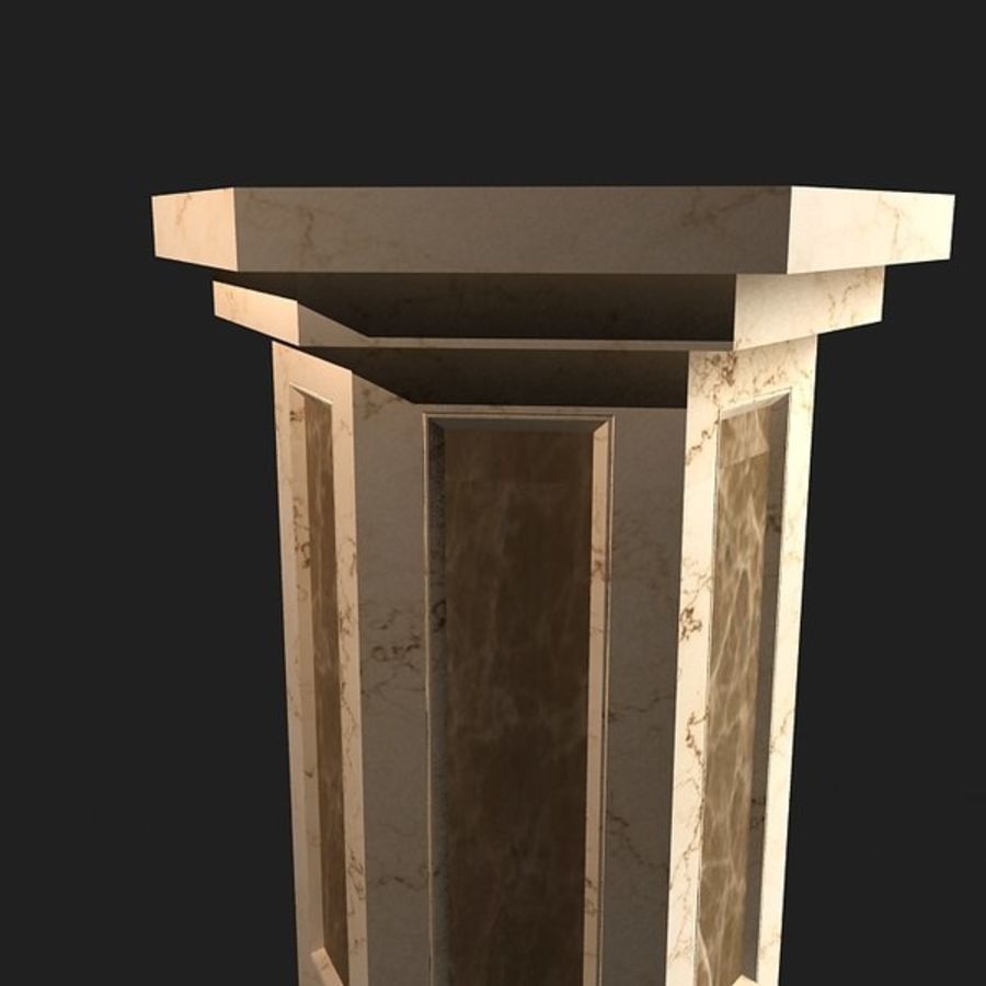 column03 royalty-free 3d model - Preview no. 2