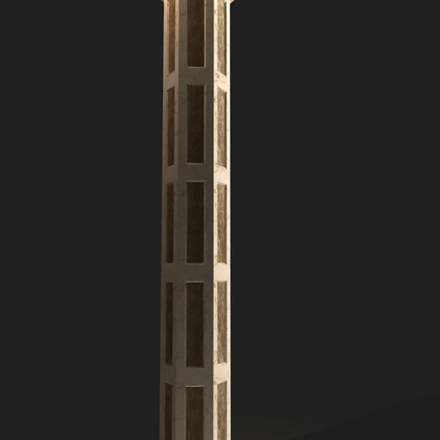 column03 royalty-free 3d model - Preview no. 1