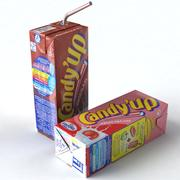 Scatole di latte 3d model