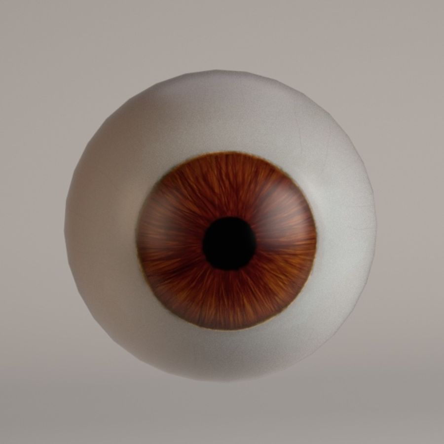 eyes royalty-free 3d model - Preview no. 5