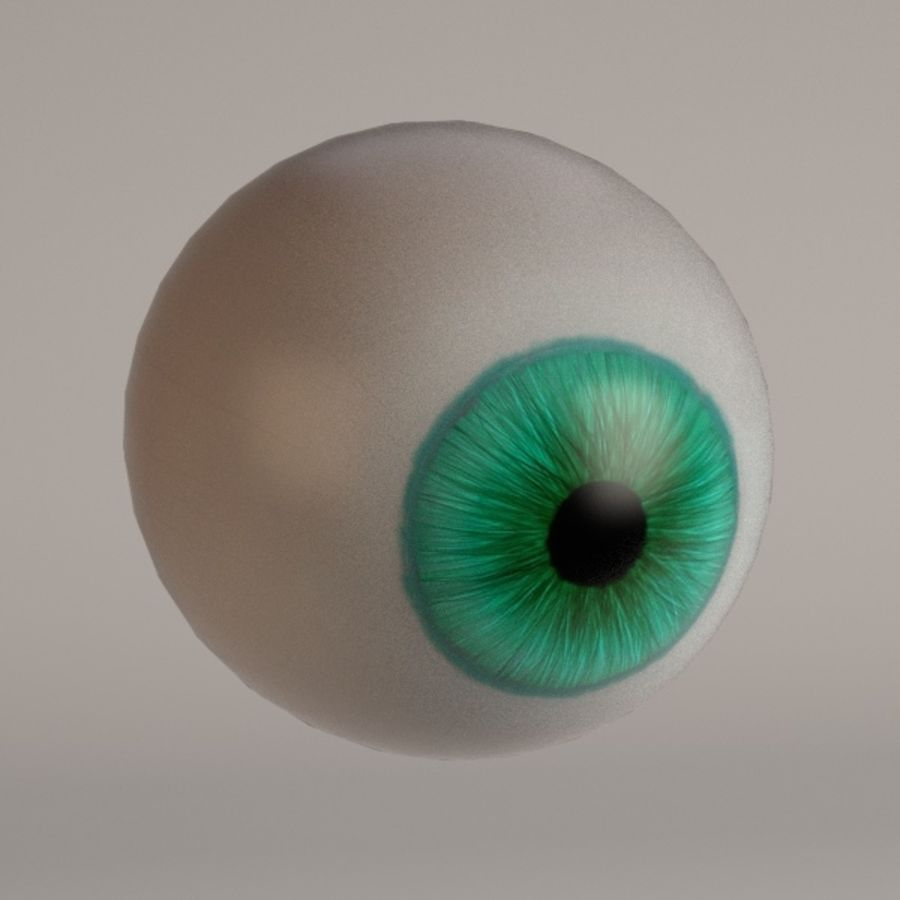 eyes royalty-free 3d model - Preview no. 13