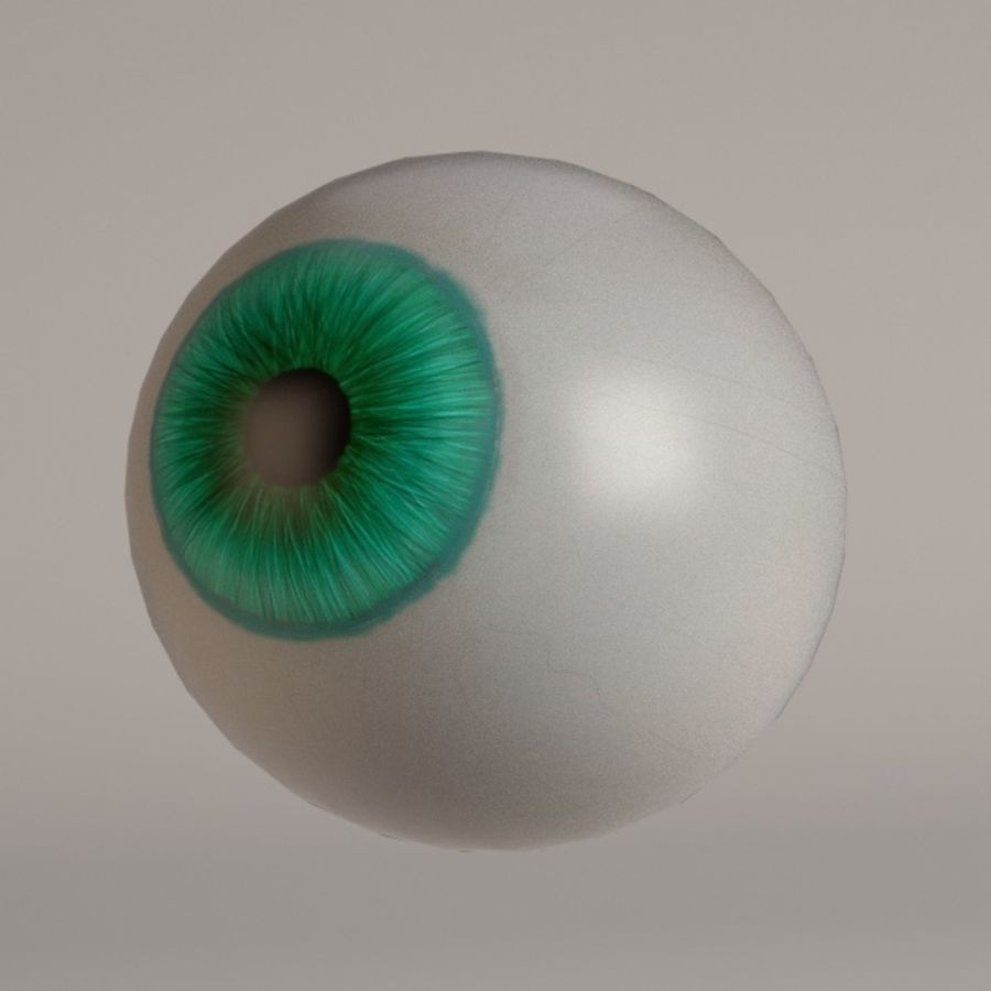 eyes royalty-free 3d model - Preview no. 12