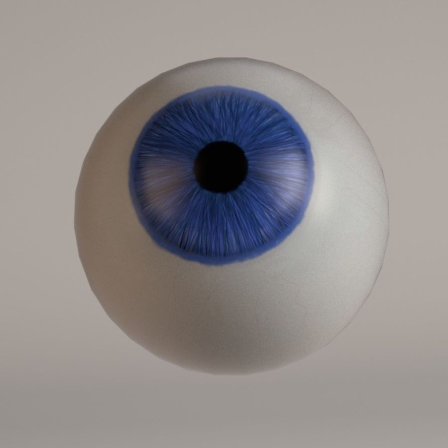 eyes royalty-free 3d model - Preview no. 10