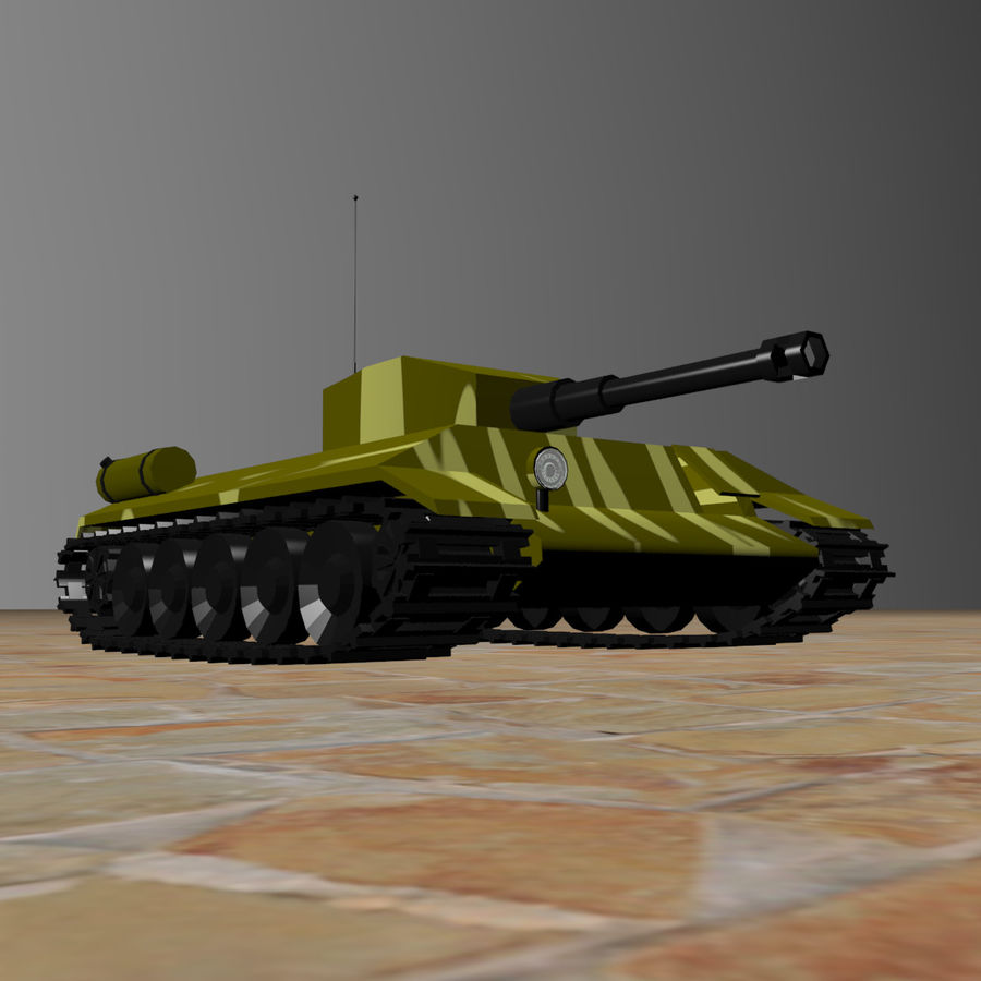 Tank royalty-free 3d model - Preview no. 6