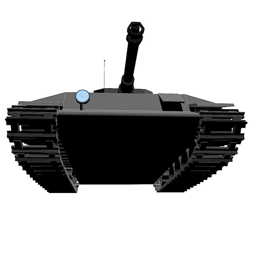 Tank royalty-free 3d model - Preview no. 4
