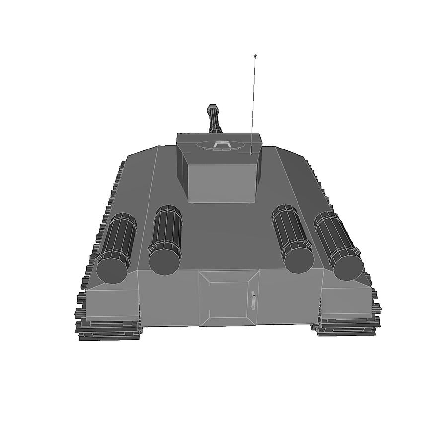 Tank royalty-free 3d model - Preview no. 5