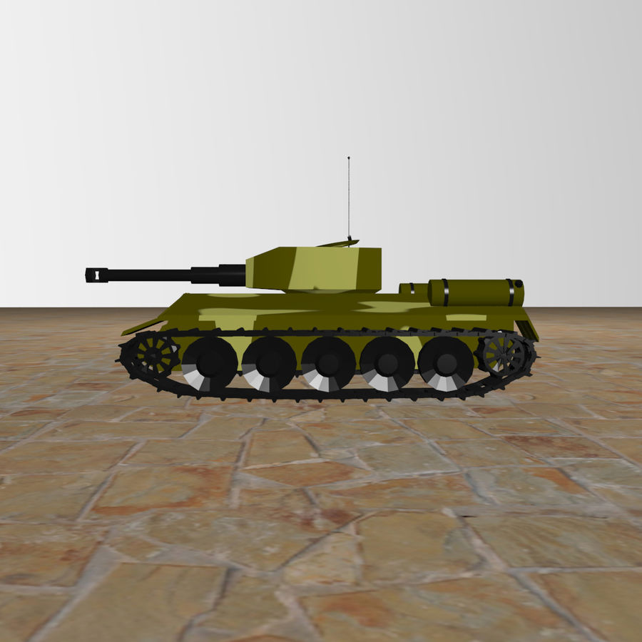 Tank royalty-free 3d model - Preview no. 7