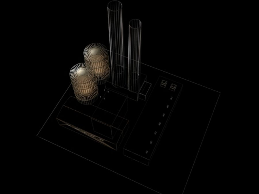 Easy Factory royalty-free 3d model - Preview no. 5
