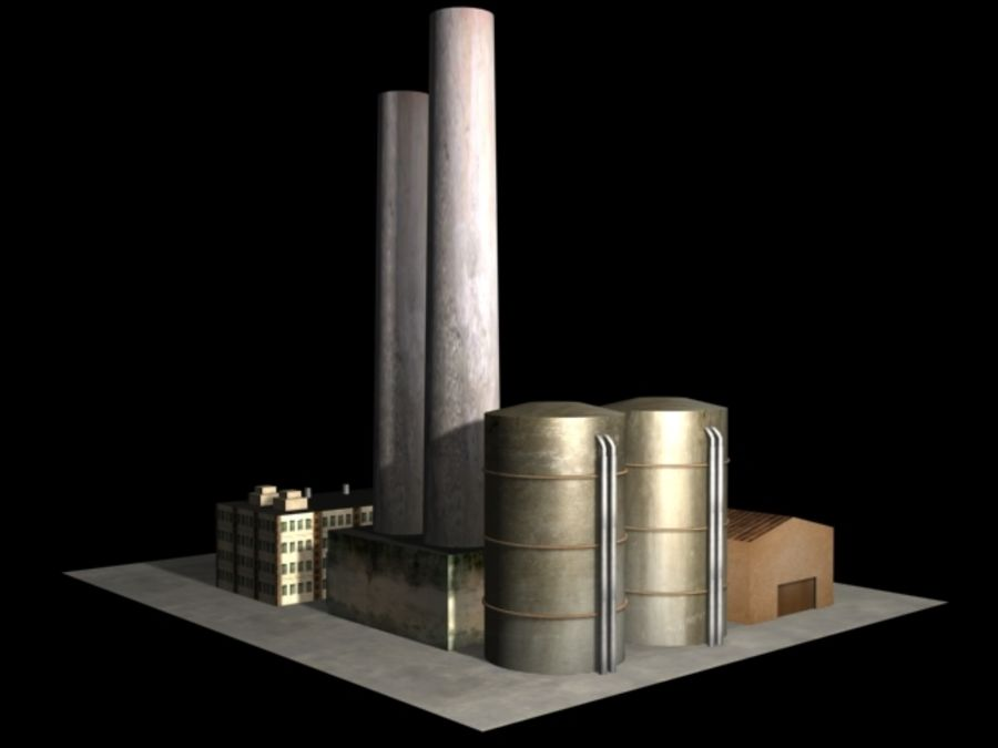 Easy Factory royalty-free 3d model - Preview no. 1