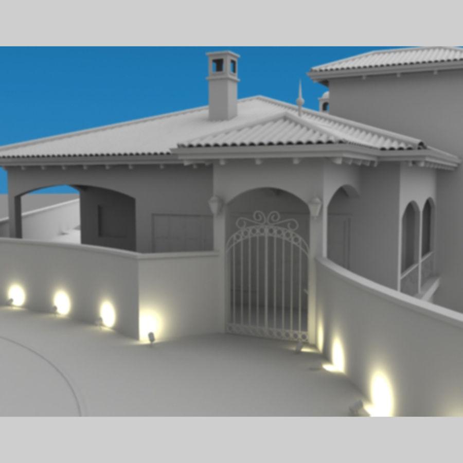 Latina moderna Toscana Hacienda royalty-free 3d model - Preview no. 9