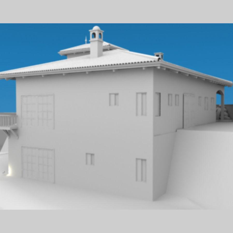 Latina moderna Toscana Hacienda royalty-free 3d model - Preview no. 8