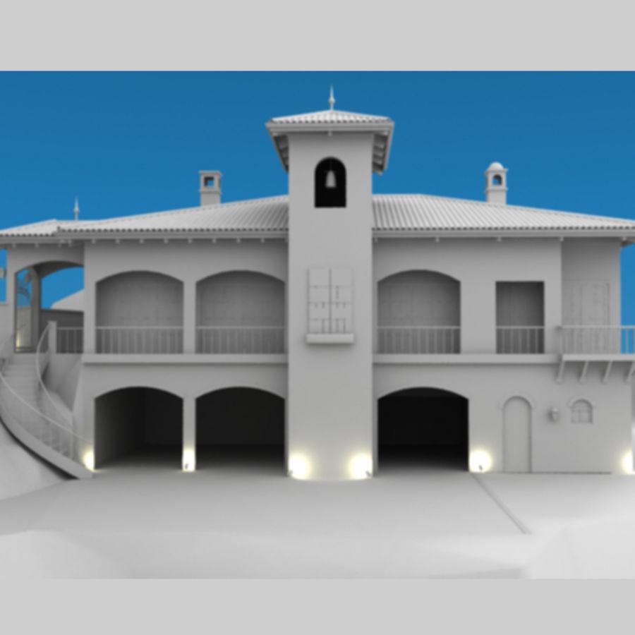 Latina moderna Toscana Hacienda royalty-free 3d model - Preview no. 4