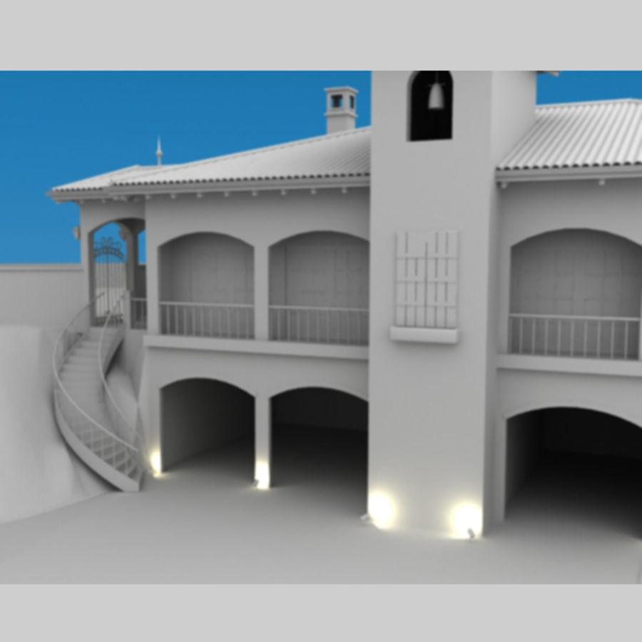 Latina moderna Toscana Hacienda royalty-free 3d model - Preview no. 5