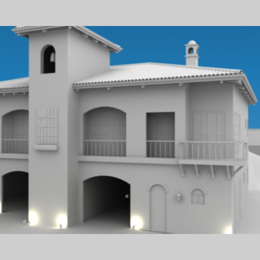 Latina moderna Toscana Hacienda royalty-free 3d model - Preview no. 6