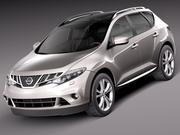 Nissan Murano 2012 3d model