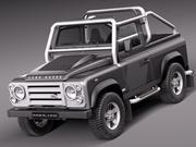 Landrover Defender SVX 2012 3d model