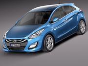Hyundai I30 2013 3d model