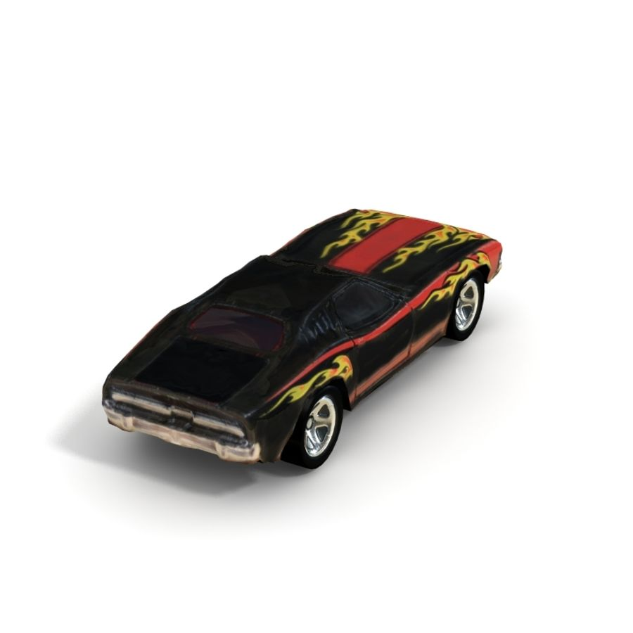 1970 Dodge Challenger - Low Poly royalty-free 3d model - Preview no. 5