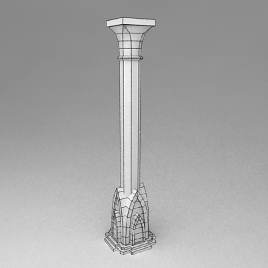 Column royalty-free 3d model - Preview no. 5