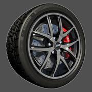 OZ运动轮 3d model