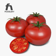 番茄 3d model