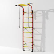 Gym wall bars 3d model