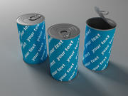 Canned food 3d model