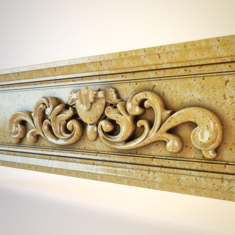 Decorative Carved Element 011 3D Model $17 -  obj  fbx  max