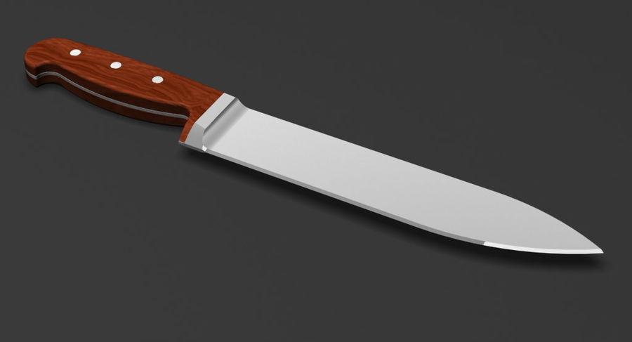 Kitchen Knife 3D Model $8 -  max  3ds  obj - Free3D