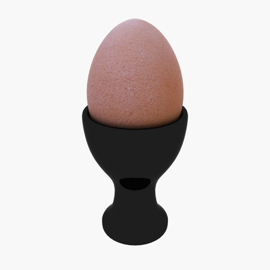 Egg Cup royalty-free 3d model - Preview no. 1